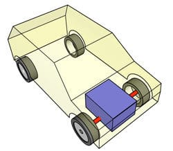 Front engine, front wheel drive